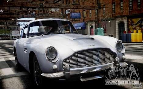 Aston Martin DB5 1964 for GTA 4