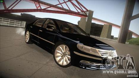 Volkswagen Phaeton W12 for GTA San Andreas back view