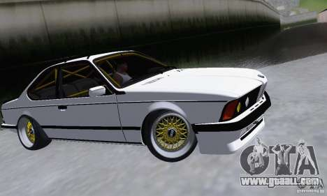 BMW M635CSi Stanced for GTA San Andreas left view