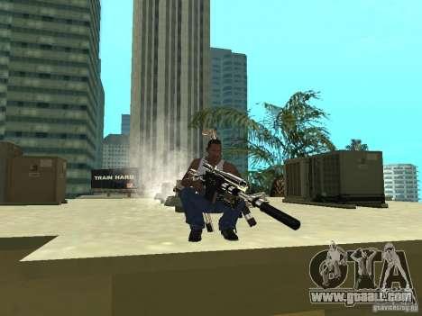 Weapons Pack for GTA San Andreas fifth screenshot