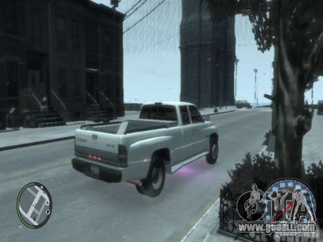 Dodge Ram 3500 for GTA 4 back left view