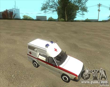 AZLK 2901 ambulance for GTA San Andreas left view