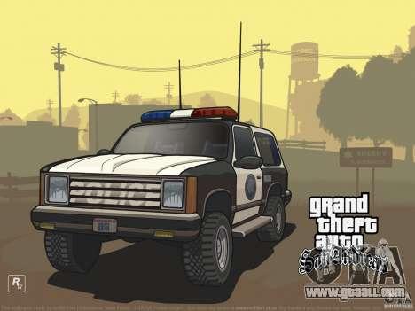 Beautiful boot screen for GTA San Andreas third screenshot