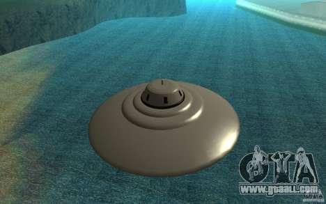 UFO In San Andreas for GTA San Andreas