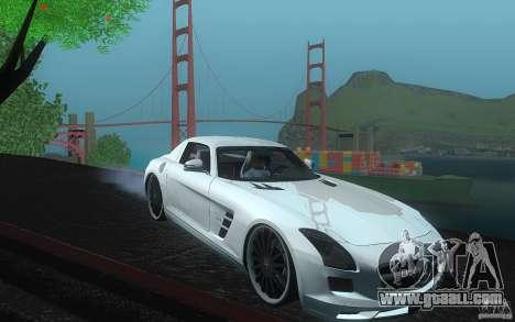 Mercedes Benz SLS HAMANN for GTA San Andreas