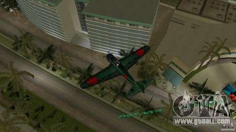 Zero Fighter Plane for GTA Vice City right view