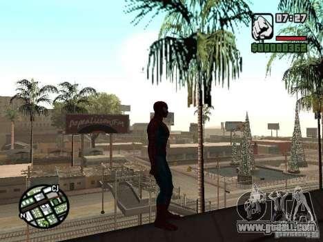 Spider Man From Movie for GTA San Andreas sixth screenshot