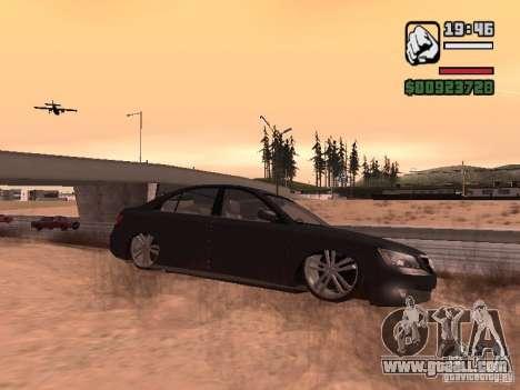 Hyundai Sonata Edit for GTA San Andreas left view