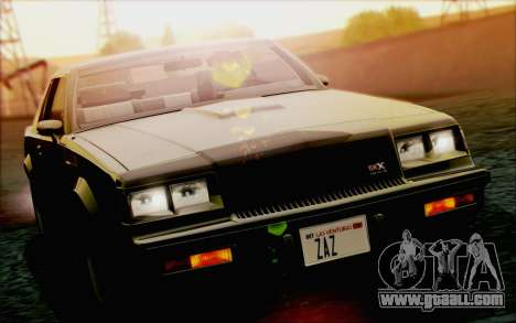 Buick GNX 1987 for GTA San Andreas