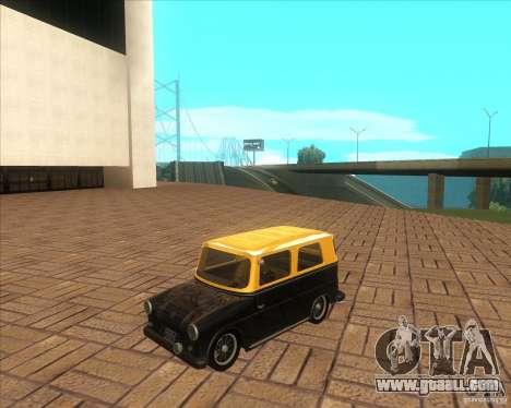 VW Typ 147 - Fridolin for GTA San Andreas