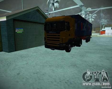 Scania 164L for GTA San Andreas