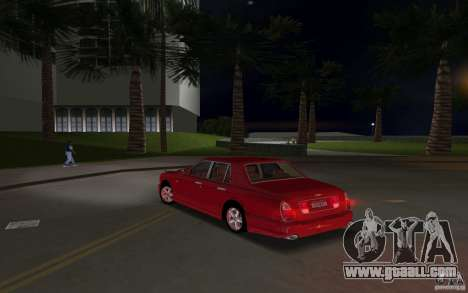 Bentley Arnage T 2005 for GTA Vice City inner view