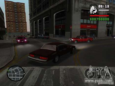 Chevrolet Caprice Classic 87 for GTA San Andreas left view