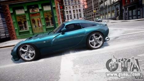 TVR Sagaris for GTA 4 left view