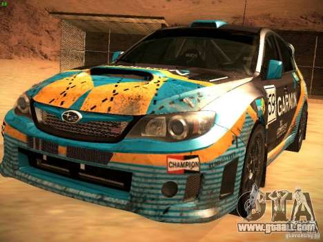 Subaru Impreza Gravel Rally for GTA San Andreas
