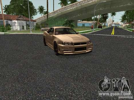 Nissan Skyline Z-Tune for GTA San Andreas left view