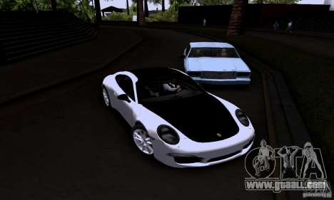 Porsche 911 Carrera S for GTA San Andreas right view