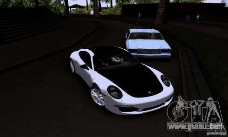 Porsche 911 Carrera S for GTA San Andreas right view
