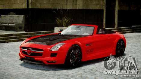 Mercedes-Benz SLS Roadster 2012 HAMANN HAWK AMG for GTA 4