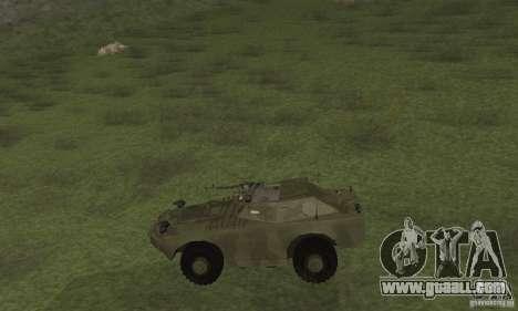BRDM-1 Skin 3 for GTA San Andreas back left view