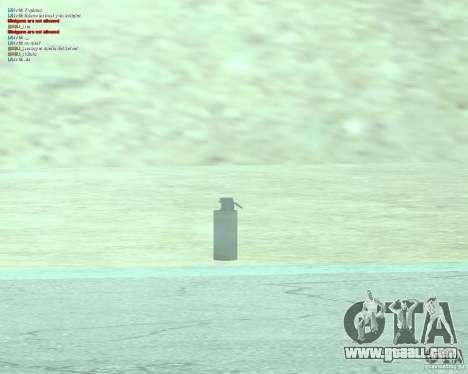 [Point Blank] WP Smoke for GTA San Andreas forth screenshot