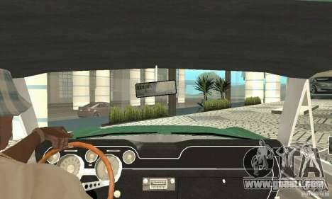 Ford Mustang Fastback 1967 for GTA San Andreas back view