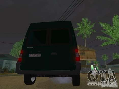 Ford Transit 350L for GTA San Andreas right view