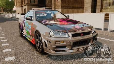 Nissan Skyline GT-R NISMO S-tune for GTA 4