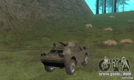 BRDM-2 winter version for GTA San Andreas left view