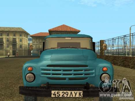ZIL 130 Onboard for GTA San Andreas left view
