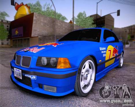 BMW M3 E36 1995 for GTA San Andreas right view