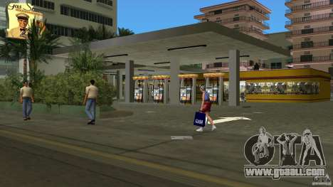 Shell Station for GTA Vice City