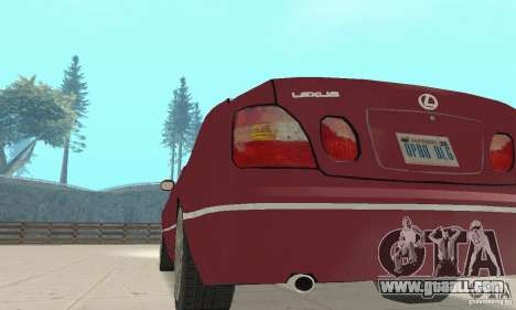 Lexus GS430 1999 for GTA San Andreas back view