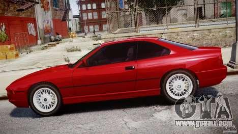 BMW 850i E31 1989-1994 for GTA 4 bottom view