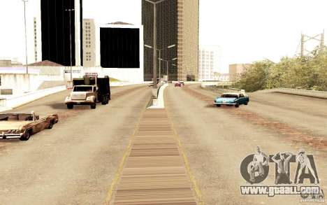 A new algorithm for car traffic for GTA San Andreas forth screenshot