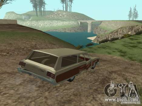 Chrysler Town and Country 1967 for GTA San Andreas side view