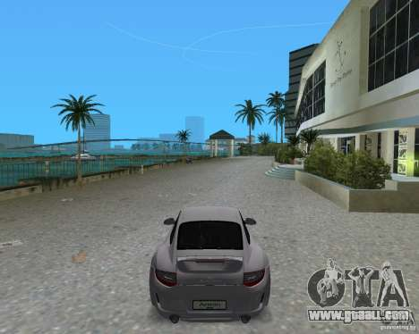 Porsche 911 Sport for GTA Vice City back left view