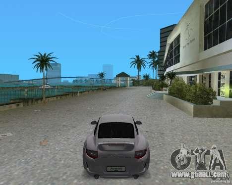 Porsche 911 Sport for GTA Vice City back left view