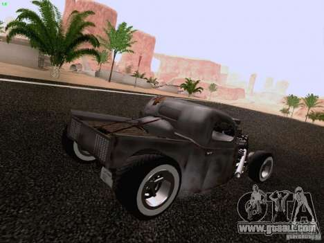 Ford Pickup Ratrod 1936 for GTA San Andreas left view