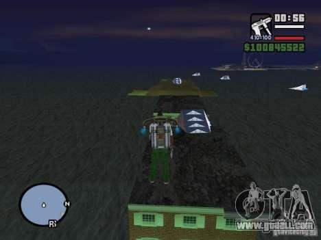 Night moto track V.2 for GTA San Andreas third screenshot