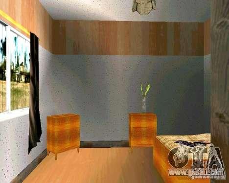 New home CJ v2.0 for GTA San Andreas sixth screenshot