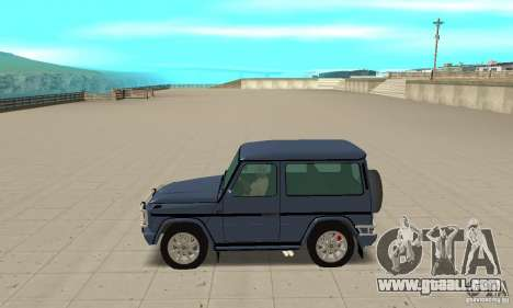Mercedes-Benz G500 1999 Short [with kangoo v1] for GTA San Andreas