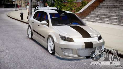 Opel Astra 1.9 TDI 2007 for GTA 4 inner view