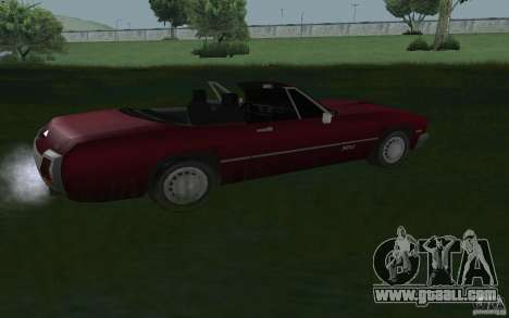 HD Stallion from GTA3 for GTA San Andreas left view