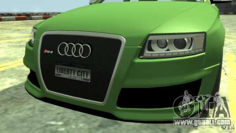 Audi RS6 Avant 2010 Stock for GTA 4 right view