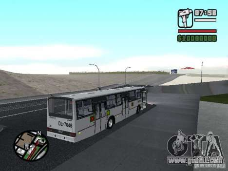 CAIO Padron Vituria Volvo B58 for GTA San Andreas right view