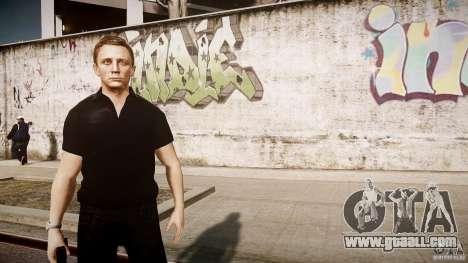 James Bond Skin for GTA 4 fifth screenshot