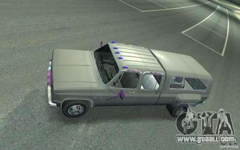 Chevrolet Silverado for GTA 4