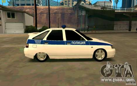 Vaz-2112 Police for GTA San Andreas left view