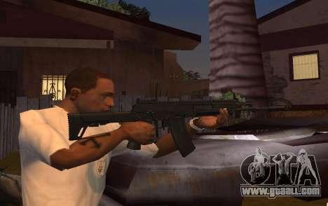 AK-12 for GTA San Andreas second screenshot